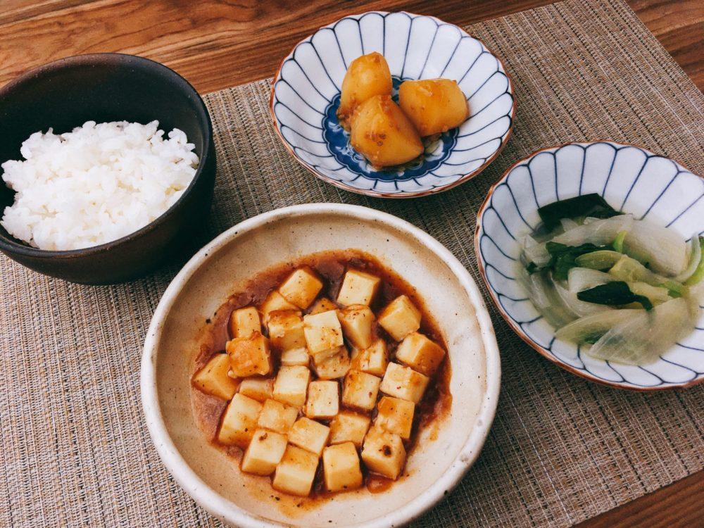 「麻婆豆腐セット」