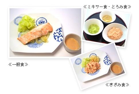 きざみ食・ミキサー食