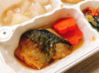 ウェルネスダイニング-サバのさっぱり煮主菜