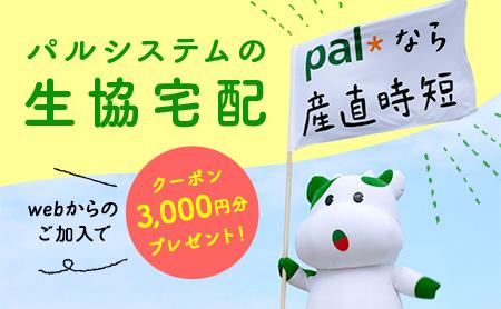 パルシステムこんせんくん3000円クーポン