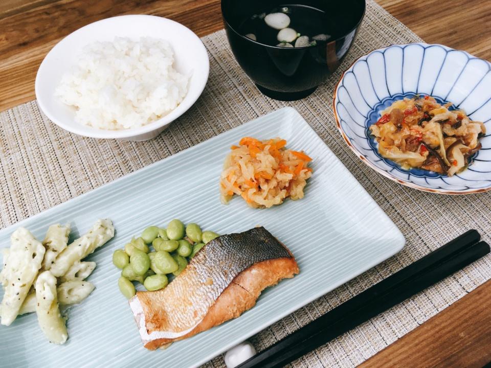 鮭の味噌幽庵焼き