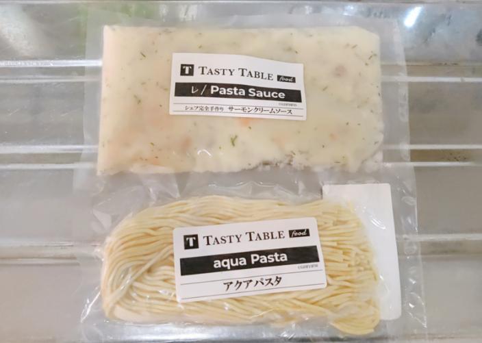 Tasty Table FOODのサーモンクリームソース