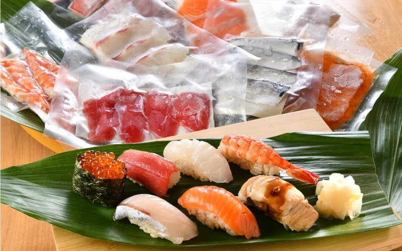 おうちで寿司便の冷凍宅配寿司