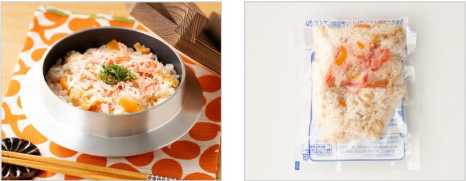 鳥取県境港産紅ずわいがにの炊き込みご飯 バナー