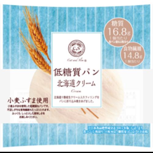 低糖質パン北海道クリーム