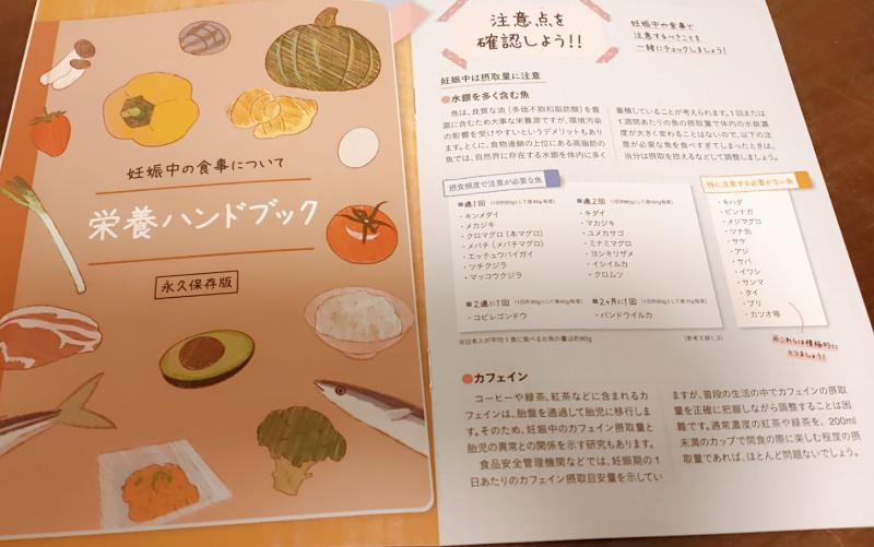 ママの休食の栄養ガイドブック