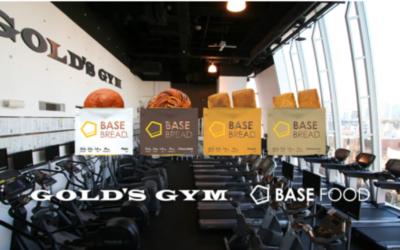 BASE FOODの商品が東京都内のゴールドジムで販売開始!2021年1月11日から!