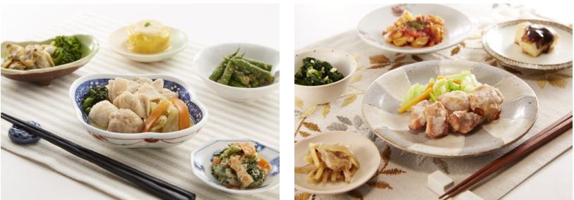 食宅便「ちょっとお得なセット」料理画像