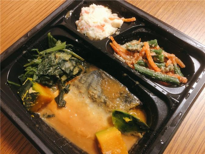 パルシステムの鯖の味噌煮弁当