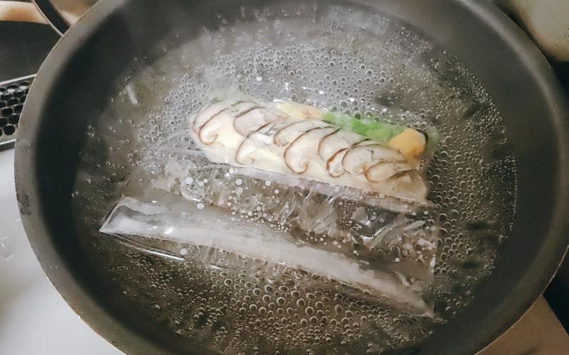 湯せん調理