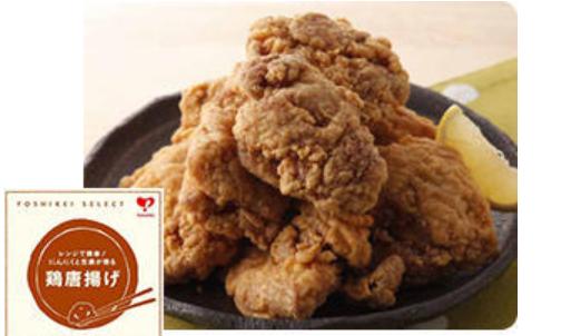 レンジで簡単!にんにくと生姜が香る鶏唐揚げ