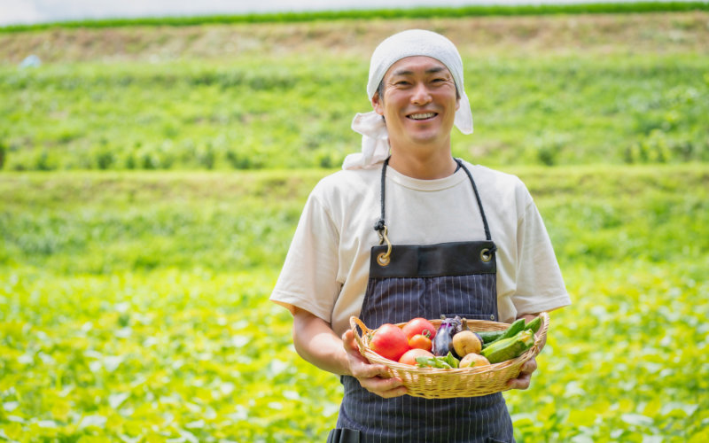 無農薬野菜農家