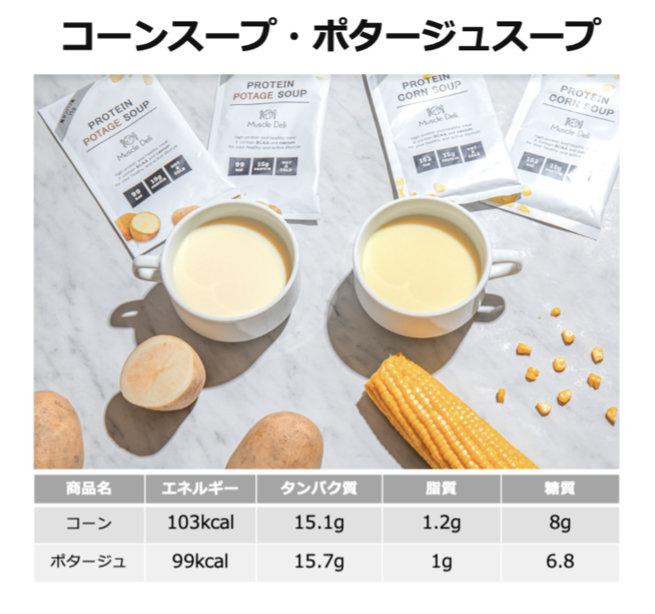 コーンスープ・ポタージュスープ