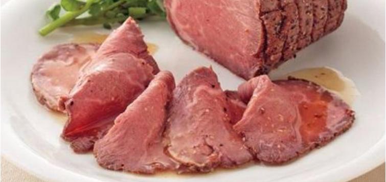 北海道産牛やわらかローストビーフ