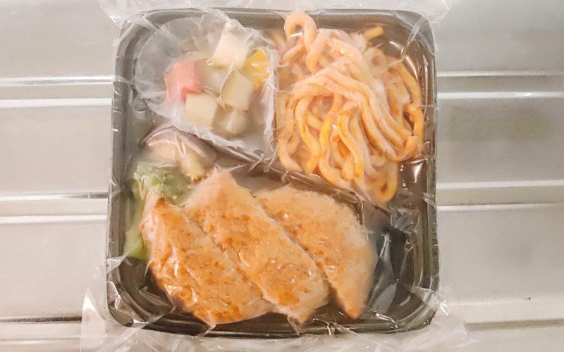 銀座萌黄亭の冷凍メンチカツ弁当