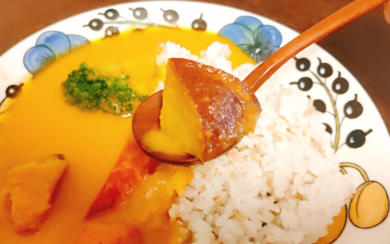 Grinoのカレーの野菜