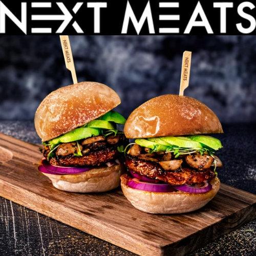 nextmeatsのハンバーガー