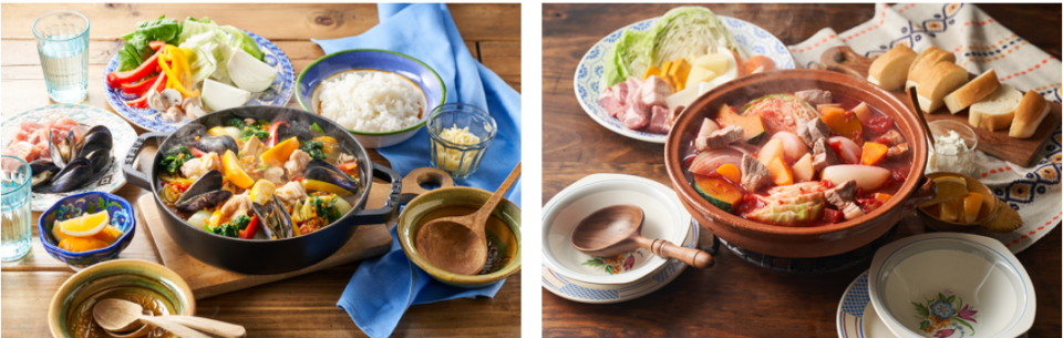 世界のごちそう鍋 食べ比べ便
