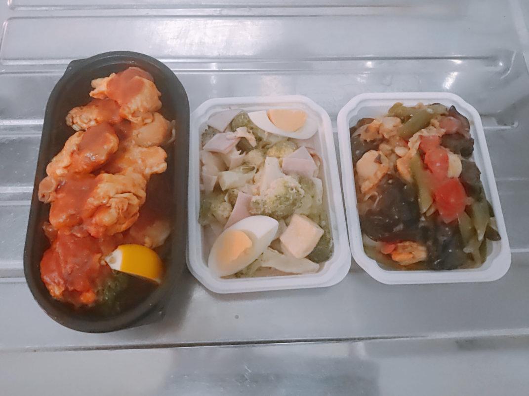 つくりおき.jpの主菜と副菜